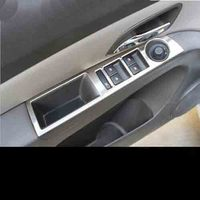 Stainless steel trim door window lifter cover sticker Car Accessories For Chevrolet CRUZE sedan hatchback 2009 2014