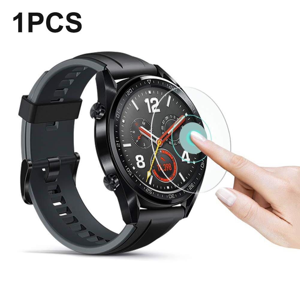 For Huawei Watch GT Tempered Glass Film Smart Sports Watch Film Protective Screen Protector Guard Anti Explosion Anti-shatter