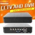 CCTV HD 1080N 720 P AHD DVR Мини 4Ch AHD-NH/1080N Или 960 H (аналоговый) запись Видео Рекордер Поддержка Нескольких Языков До 4 ТБ