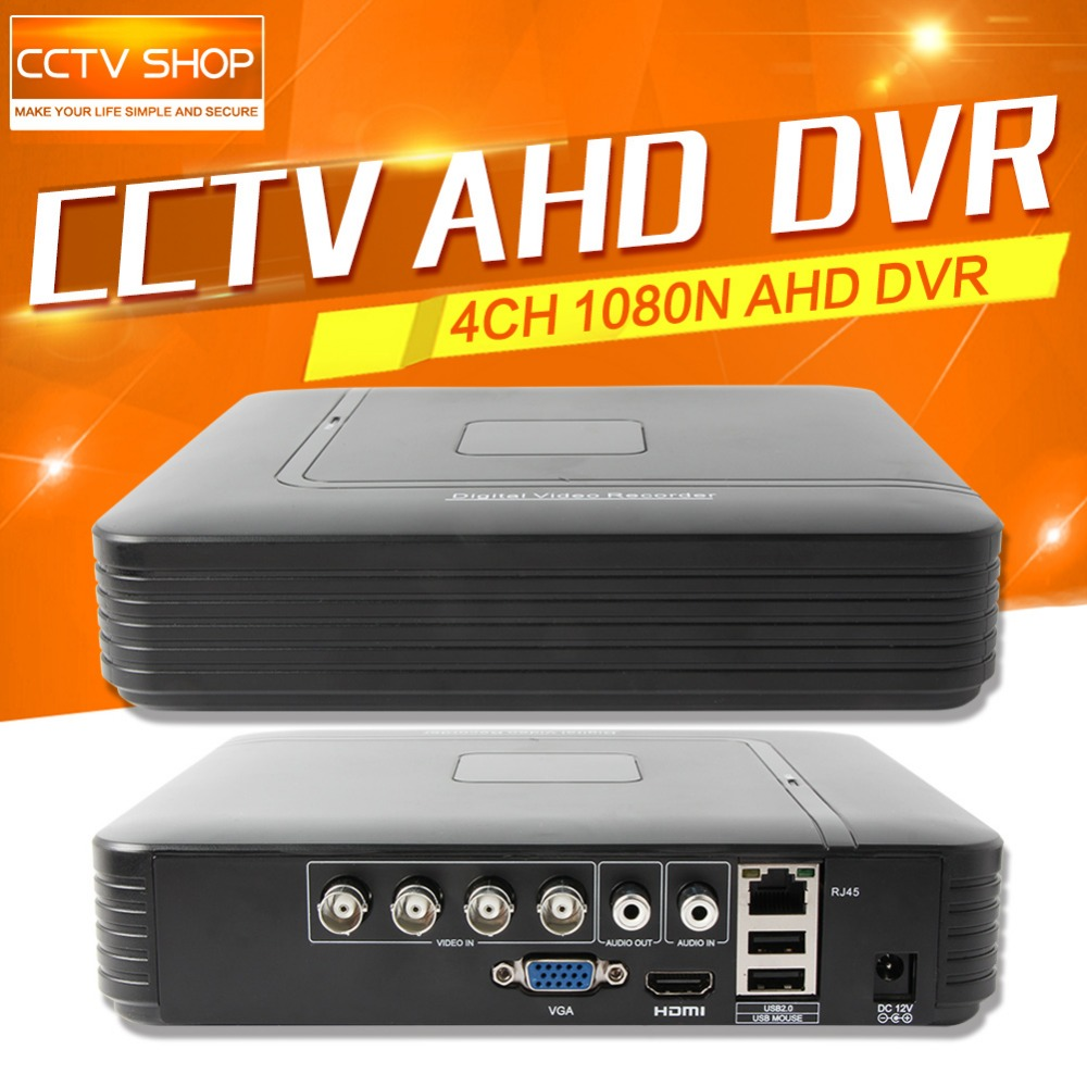 CCTV HD 1080N 720P AHD DVR Mini 4Ch AHD-NH/1080N Or 960H (Analog) Recording Video Recorder Support Multi Language Upto 4TB nh collection madrid abascal ex nh abascal 4 мадрид