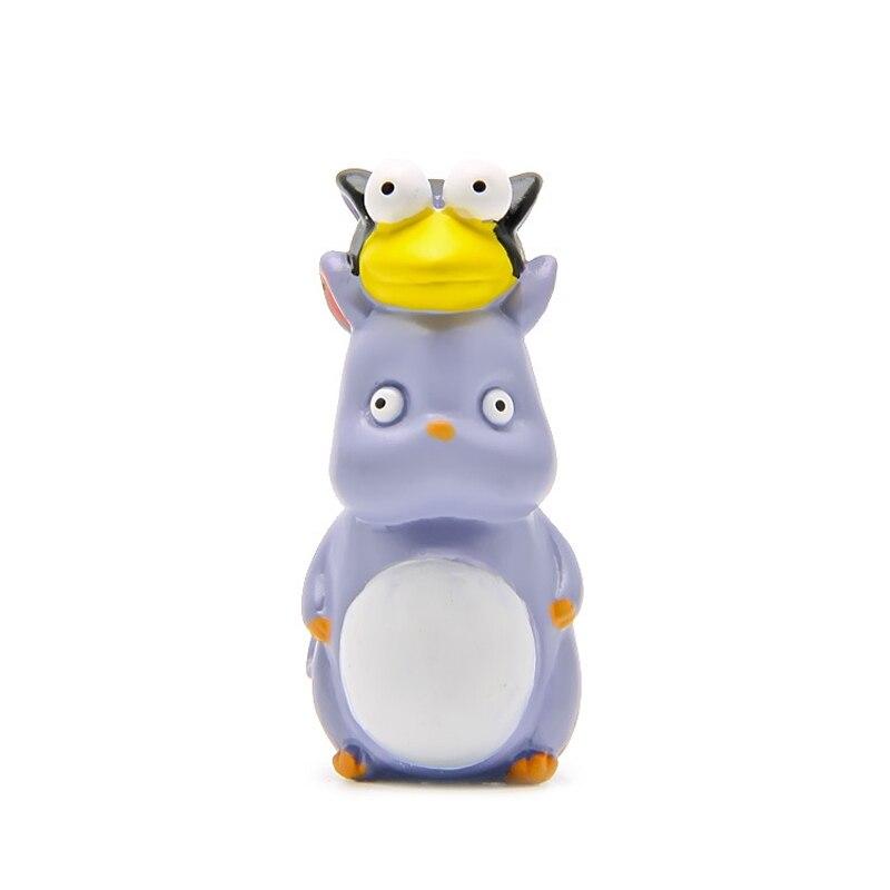 4pcs Miyazaki Hayao Spirited Away No Face & Yubaba & Little Mouse Bird & Wool Ball Basket Cute Figures Action Figure Model Toy
