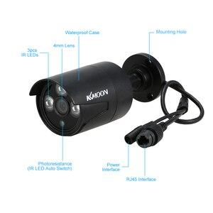 Image 2 - KKmoon sistema de vigilancia de seguridad CCTV, 4 canales, 1080P, WiFi, NVR, 4 Uds., cámara IP inalámbrica de 1.0MP, impermeable, visión nocturna