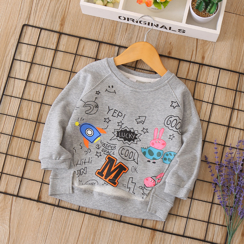 new autumn girls boys T-shirts Long Sleeve Unisex Child Clothes Casual Cotton infant baby girl boy Kids Children Tees brand new boys girls tshirt baby clothes autumn cotton long sleeve kids top applique child clothes fashion o neck kids tees tops