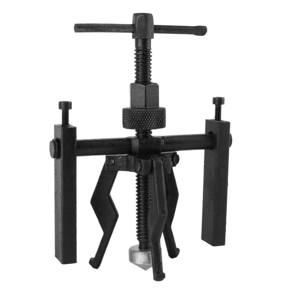 3-Jaw Inner Bearing Puller Tool Gear Extractor Heavy Duty Automotive Machine Repairing Tools Kit Size 200x135mm winmax 6 gear puller 3 jaw set gear pulley bearing puller auto tool