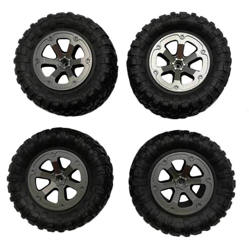 4Pcs Upgrade Track Wheels Spare Parts for 1/16 WPL B14 C24 Military Truck RC Car Accessories