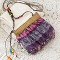 Special offer Bohemia folk custom lovely floral Shoulder Bag Messenger Bag Straw Beach Bag female bag