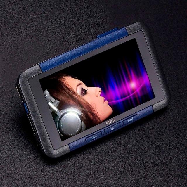 MP5 プレーヤー 3 ''スリム Lcd スクリーンミュージックビデオプレーヤーレコーダーレコーダー電子書籍リーダー FM ラジオ MP4 プレーヤーサポート 32 ギガバイトの音楽プレーヤー