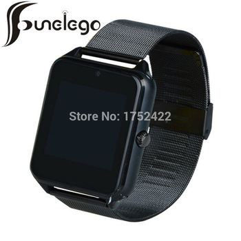 Funelego Smart Watch For IOS Android  With SIM Cord Camera Touch Clock Bluetooth Smartwatch Waterproof Wrist Watches Cell Phone