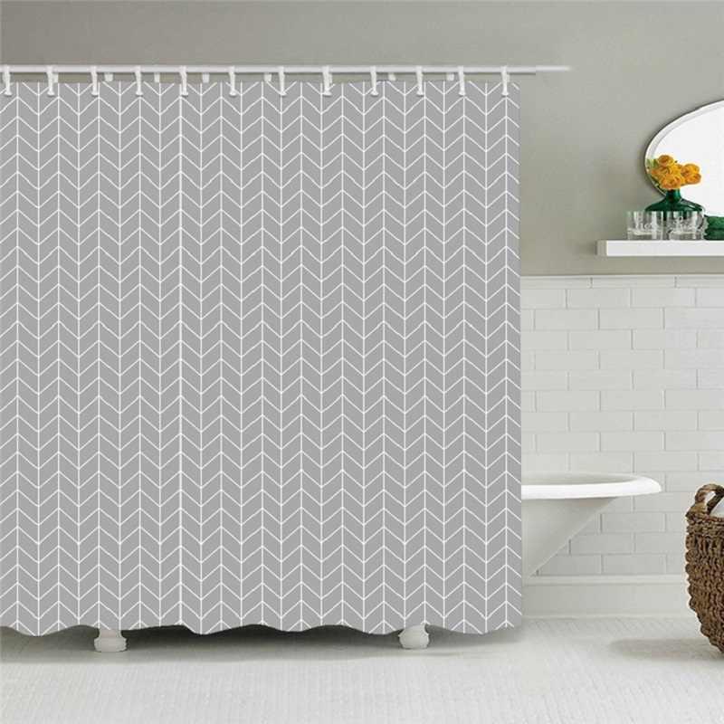 12 Pcs Kait PEVA Ramah Lingkungan Moldproof Tahan Air Kamar Mandi Mandi Shower Tirai Kamar Mandi Produk Mandi Tirai dengan
