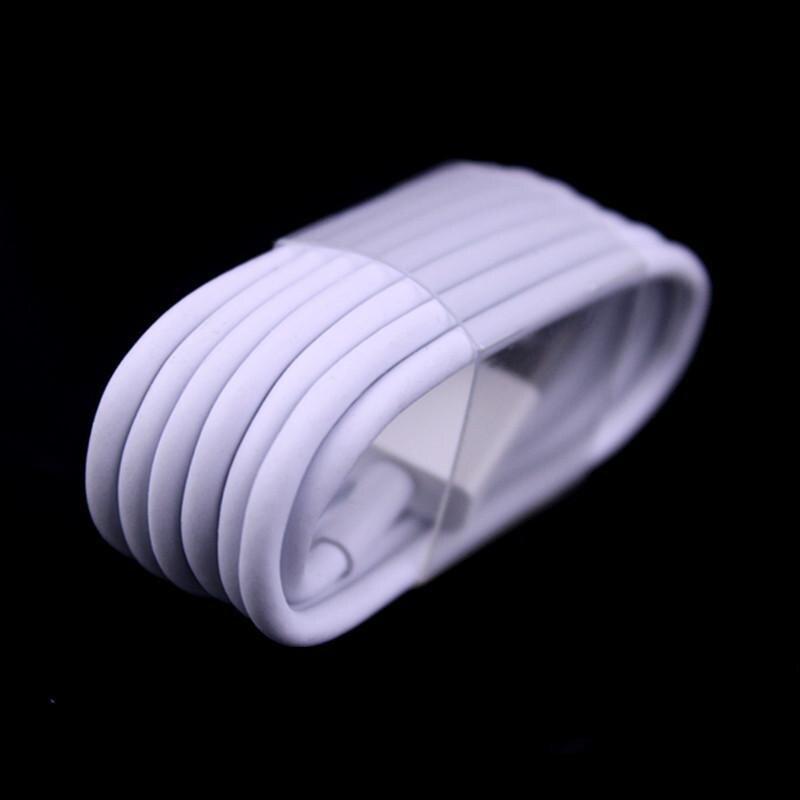imágenes para Envío de la Alta calidad 100 unids 1 M Tejido Trenzado Cable Usb 8pin paquetes de accesorios para teléfono móvil 5 5S 6 6 s 7 más laptop