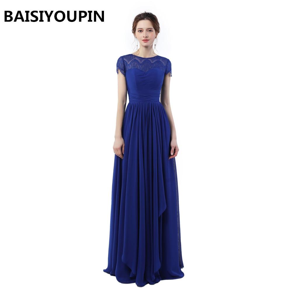 €11.11 11% de DESCUENTOAbendkleider Lang 11 Vestido largo De fiesta Para  boda vestidos azules De fiesta baratos largos vestidos De noche  -