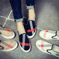 Hot Free shipping  2017 spring new fashion women shoes classical casual breathable canvas loafers women casual shoes