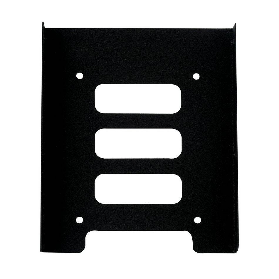 """2.5"""" to 3.5"""" SSD HDD Metal Adapter Mounting Bracket Hard Drive Holder for PC Brand New"""