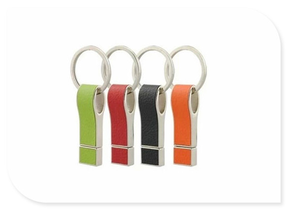 Leather keychain USB 2.0 usb flash drives thumb pendrive u disk usb creativo memory stick 4GB 8GB 16GB 32GB 64GB S419