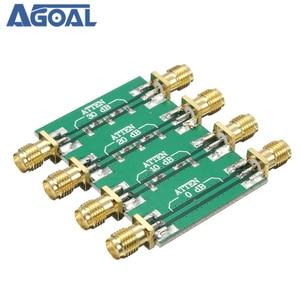Image 3 - DC 4.0GHz 200mW DC 4.0GHz RF קבוע מחליש SMA כפול נקבה ראש 0dB 10dB 20dB 30dB
