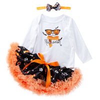 Baby Girls Clothes Triangle Baby Bodysuit Tutu Skirt Newborn Christmas Dress Outfit Halloween Party Toddler Baby Girl Set 0 2Age
