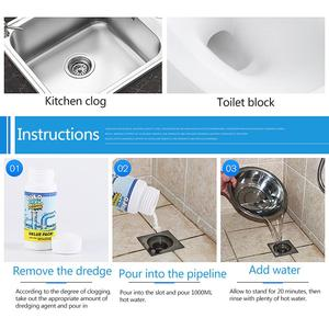 Image 4 - Sani Sticks Oil Decontamination The Kitchen Toilet Bathtub Drain Cleaner Sewer Cleaning Rod Convenient Sewer Hair Clear