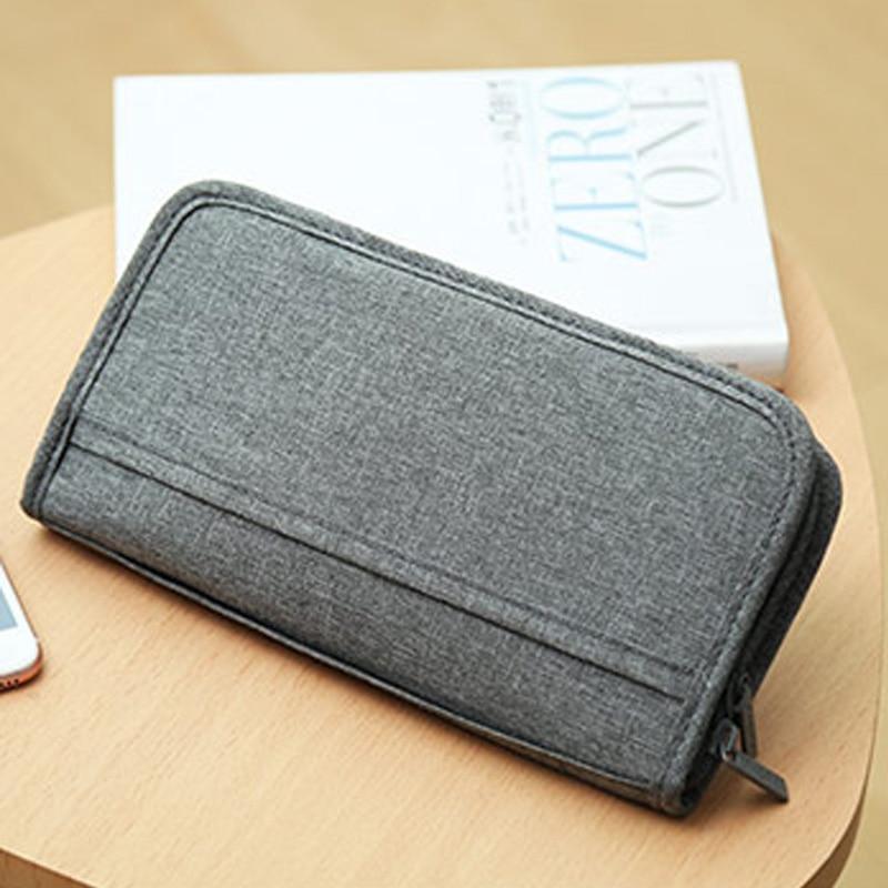 Travel Passport Cover Multifunction Wallet Document Organizer Cover Men Women Business ID Card Holder Case Wrist Strap PC0047 (9)