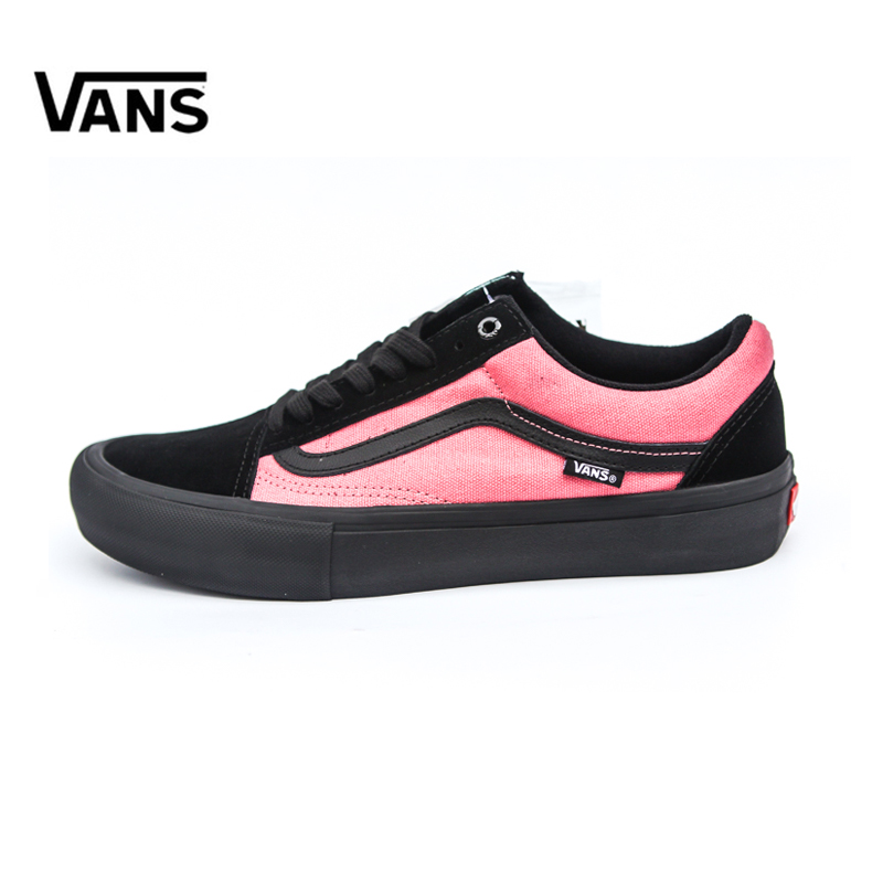 Original Vans Men's & Women's Classic Old Skool Pro Skateboarding Shoes Sport Outdoor Sneakers Canvas Comfortable VN000ZD4U1Y original new arrival van classic unisex skateboarding shoes old skool sport outdoor canvas comfortable sneakers vn000d3hw00