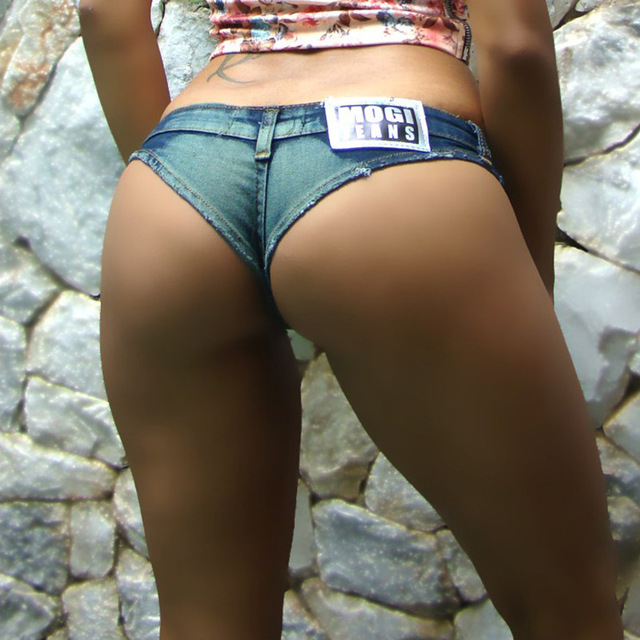 Sexy girls wearing booty shorts