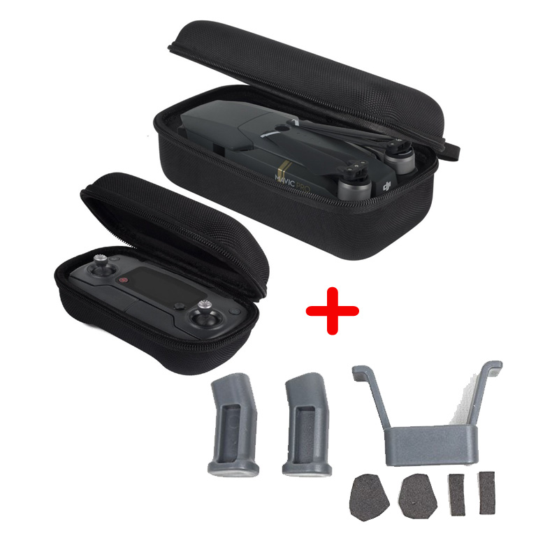 Dji Mavic Pro Accessories Landing Gear Leg Height Extender Drone Body And Remote Controller Transmitter Carry Storage Hard Case Punctual Timing