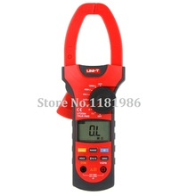 UNI-T UT209A True RMS Auto/Manual Range 4000Counts 1000A Digital Clamp Meter Clamp-on Multimeter Amperimetro Pinza Amperimetrica holdpeak hp 870n auto range multimetro digital clamp meter multimeter pinza piers ammeter amperimetro true rms frequency tester