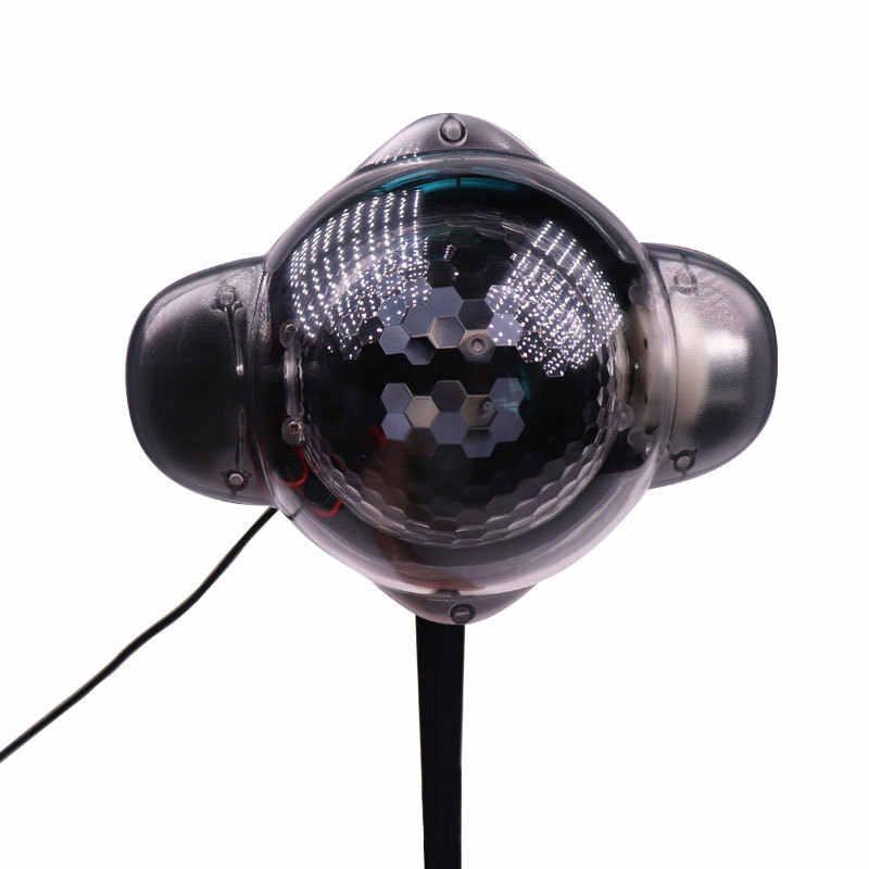 С эффектом падающего снега проектор IP65 перемещение для снега, для улицы, на каждый день, садовый лазерный проектор лампа рождественский снежинка лазерный свет для Новый год лампа