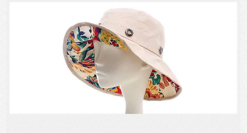 Chapeau D'été pliable grand bord