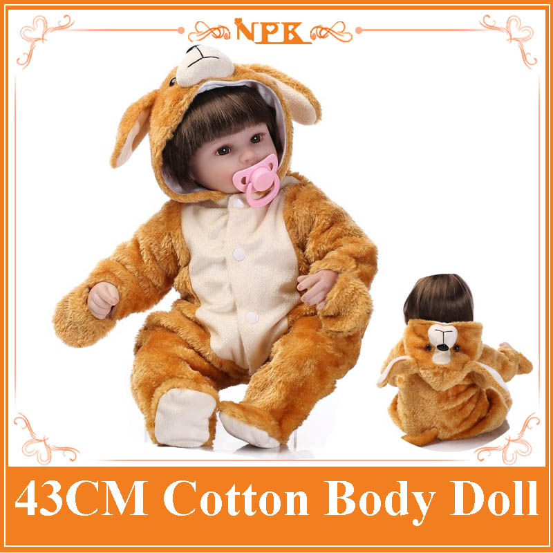 Super Cute Bebe Reborn Meninas With Soft Animal Style Doll Clothes NPK Hot Brand Reborn Dolls Babies Best Christmas Doll Toys reliable good quality 55cm 22inch npk brand reborn doll toys with pink layette soft vinyl bebe reborn dolls babies acompany toys