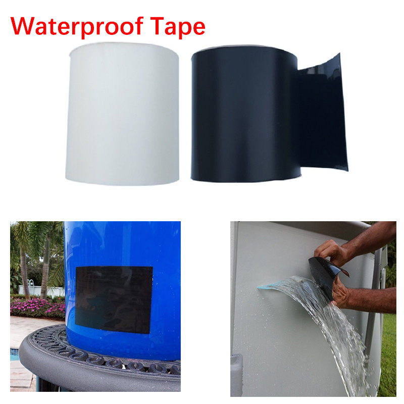 Strong Permanent Flex Leakage Repair Waterproof Tape For Garden Hose Water Bonding Fast Rescue Repair Quickly Stop Leakage Tool