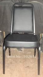 Горячая продажа стали Банкетный стул luyisi2070 стекируемые Плесень сидений, прочная ткань, 5 шт./коробка, безопасный пакет