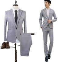 Jacket Pant Luxury Men Wedding Suit Male Blazers Slim Fit Suits For Men Costume Business