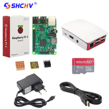 Best price Raspberry Pi 3 Model B Starter Kits + Power Adapter + 3.5 inch Touch Screen + Official Case + Heat Sink + HDMI Cable for RPI 3