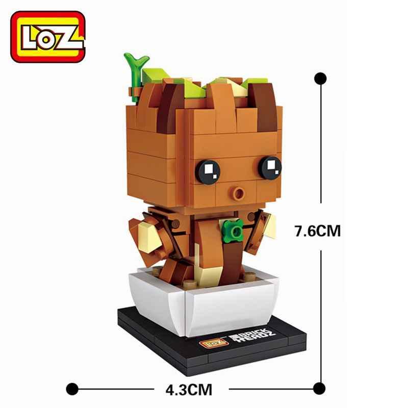 LOZ Marvel Avengers Super Heroes Thor captain america doctor strange Model Building Blocks Toys for Children Figures Bricks Gift