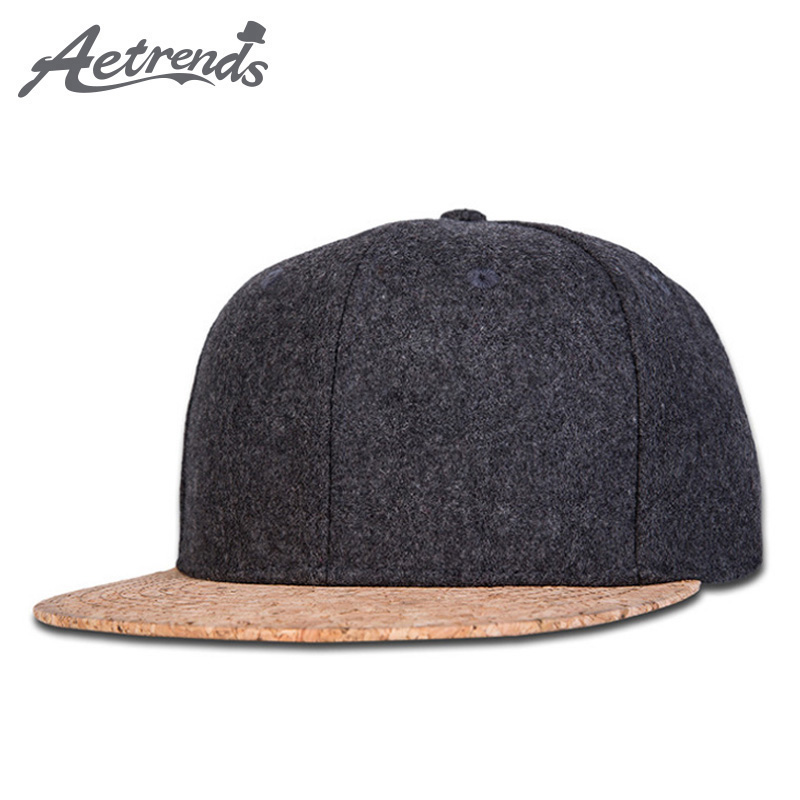 56eb84d2a56 Details about  AETRENDS  Autumn Winter Snapback Hip Hop Cap Flat Caps for  Men or Women Bone