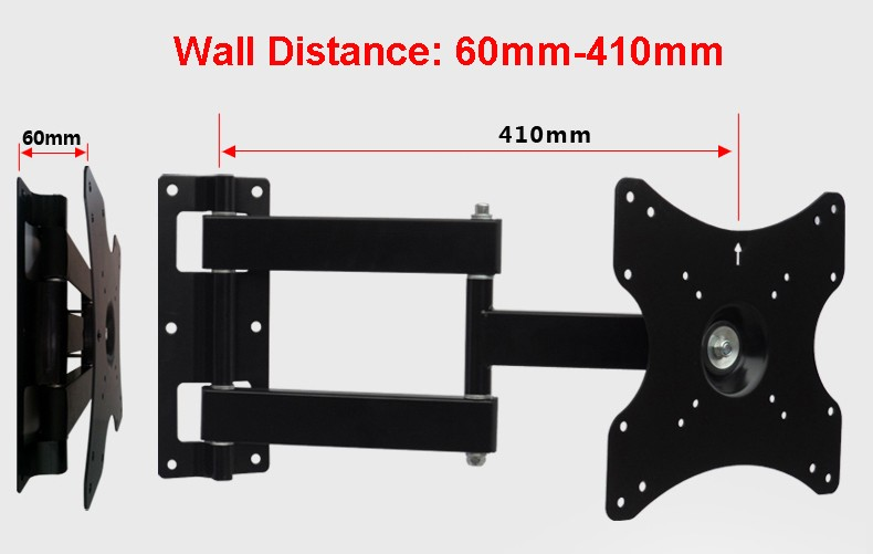 40 tv wall distance