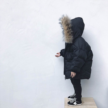 Winter Children's Clothing Girls Clothes Sets Boys Girls Parka Jackets Coat Down Snow Wear Autumn Winter Outerwear