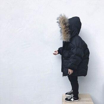 Winter Kinderkleidung Mädchen Kleidung Sets Jungen Mädchen Parka Jacken Beschichten Unten Snowwear Herbst Winter Oberbekleidung