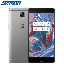 """Oneplus 3T A3010 Oneplus 3 A3000 6GB RAM 64GB ROM Mobile Phone Snapdragon 820/821 5.5"""" 1080P 4G LTE Fingerprint ID Dash Charge"""