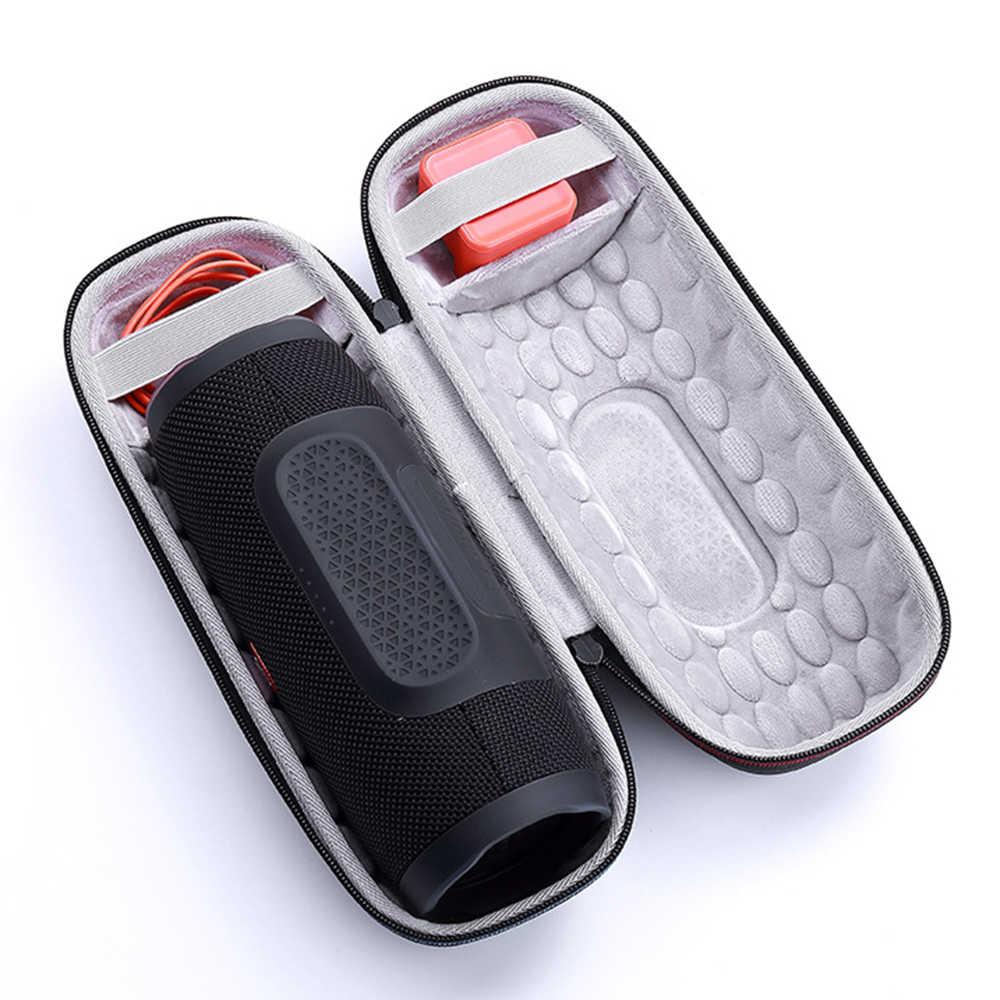 Najnowszy EVA pokrowiec torba do JBL opłata 3 podróży ochronna skrzynki pokrywa dla jbl charge3 głośnik bluetooth dodatkowej przestrzeni dla Plug & kable
