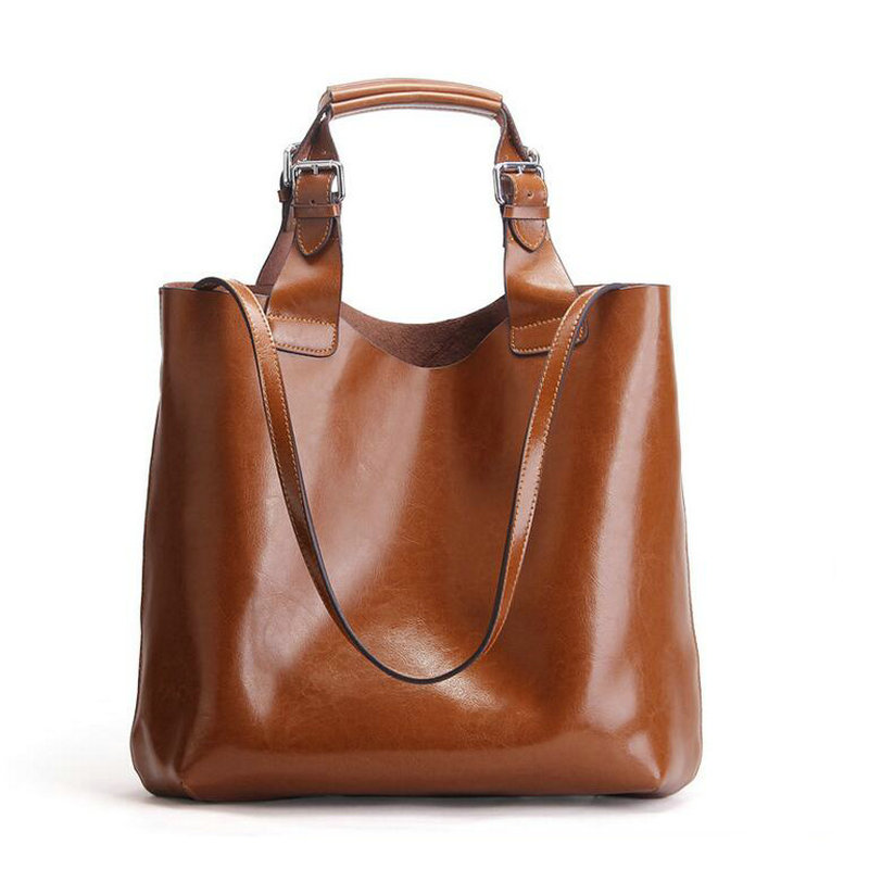 100% Genuine Leather Bags For Women Famous Brand Shoulder Bags Solid Designer Handbag High Quality Ladies Women,free shipping