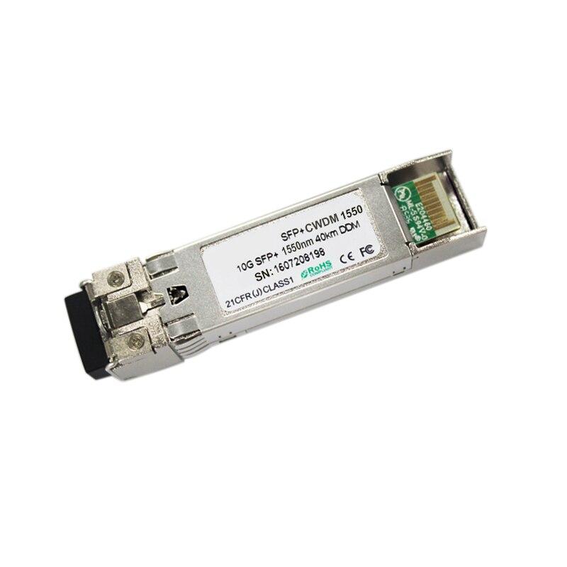 10G CWDM SFP+ module 10G 40KM SFP optical fiber transceiver 1470nm 1480nm 1510nm 1550nm..1610nm10G CWDM SFP+ module 10G 40KM SFP optical fiber transceiver 1470nm 1480nm 1510nm 1550nm..1610nm