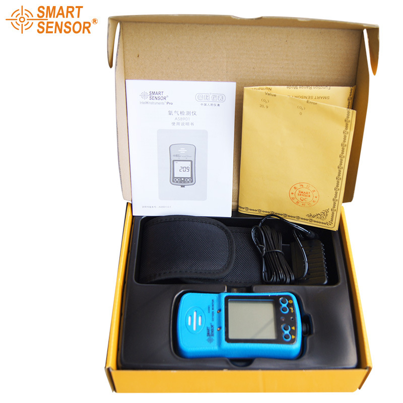 Portable Riot control oxygen gas analyzer O2 AS8901 concentration content measuring instrument detector tester (6)