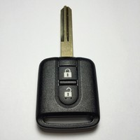 Wholesale 2 Button Remote Key For Nissan Pickup Duke 433MHZ With ID46 Chip Inside Free Shipping