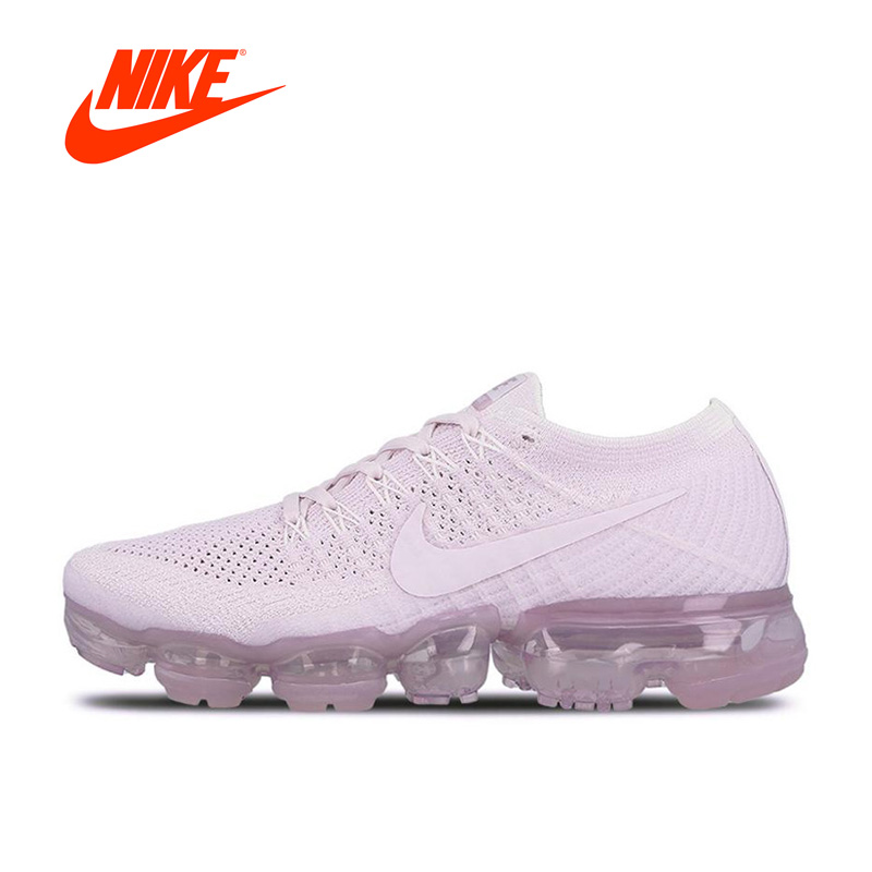 купить Original New Arrival Authentic Nike Women's Running Shoes Air VaporMax Flyknit Sports Sneakers по цене 7017.09 рублей