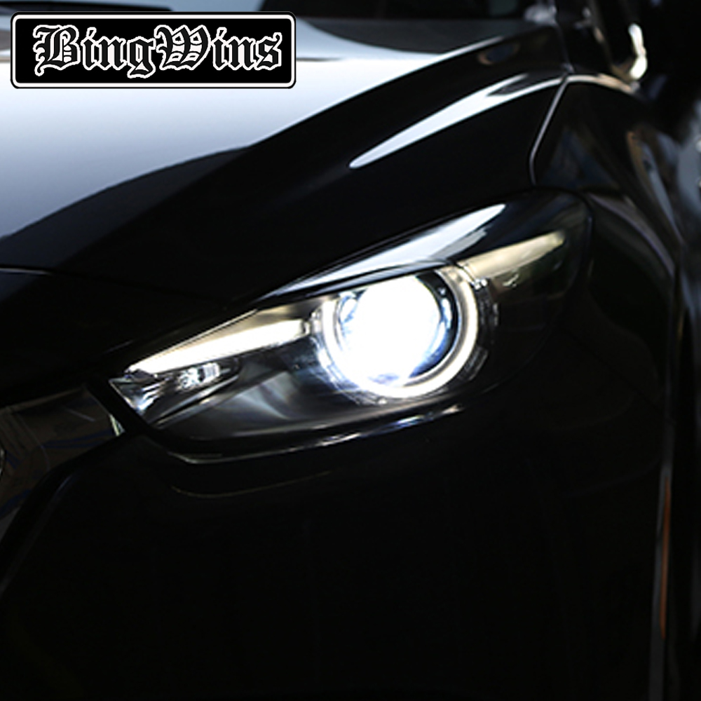 купить Car Styling for Mazda 3 Headlights 2017 New Mazda3 Axela LED Headlight Original DRL Bi Xenon Lens High Low Beam Parking недорого