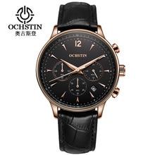 2017 OCHSTIN Top Brand Black Casual Geneva Quartz Watch Men Chronograph Date Clock Military Sport Wristwatch Relogio Masculino все цены