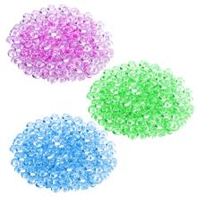 3 Packs of Fishbowl Beads Plastic Vase Filler Beads Fish Bowl Beads for Slime Making DIY Art Craft Wedding Party Decoration(China)