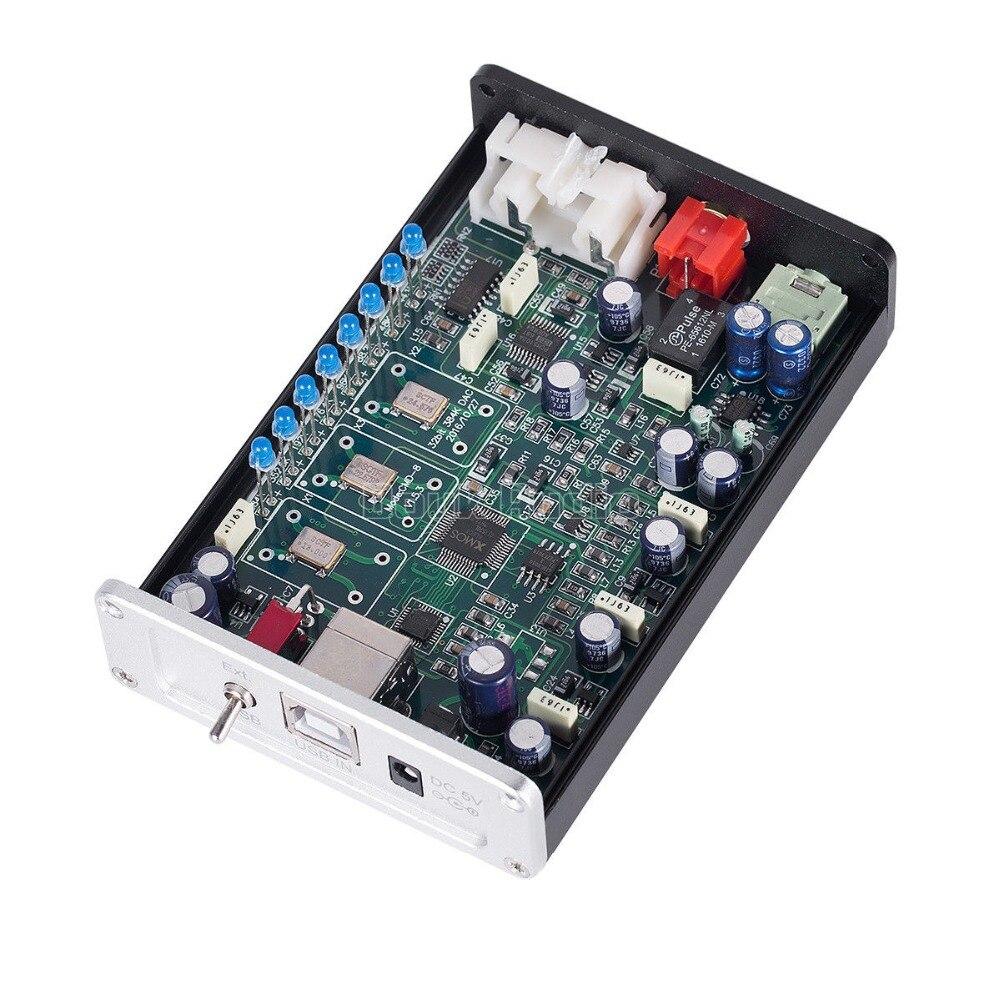 2018 Yeni Nobsound HiFi Mini PCM5102 USB XMOS DAC 384K / 32bit - Evdə audio və video - Fotoqrafiya 6
