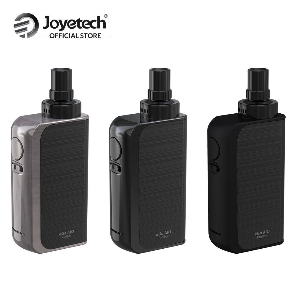 Original Joyetech eGo AIO ProBox Kit 2100mAh Built in Battery 2ml Eliquid Capacity 0.6ohm BF SS316 Coil Electronic Cigarette